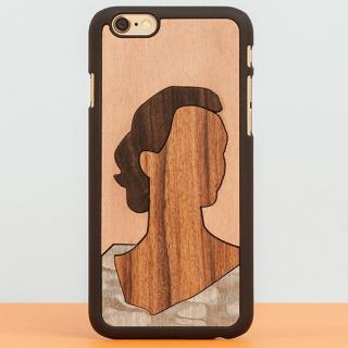 【iPhone6 Plusケース】スナップオン 天然木ケース INLAYS Edith iPhone 6 Plus