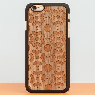 【iPhone6 Plusケース】スナップオン 天然木ケース DOUBLE ESSENCE WALNUT iPhone 6 Plus