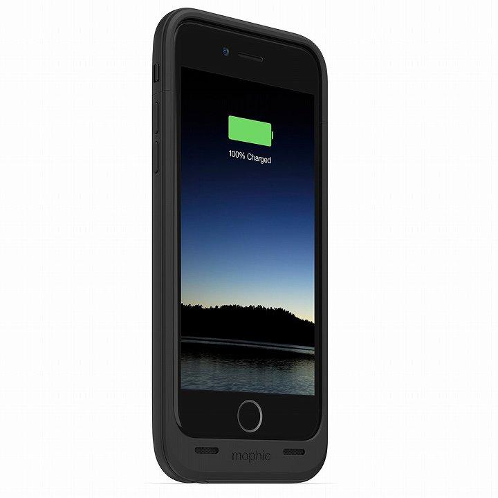 薄型バッテリー内蔵ケース mophie juice pack air ブラック iPhone 6