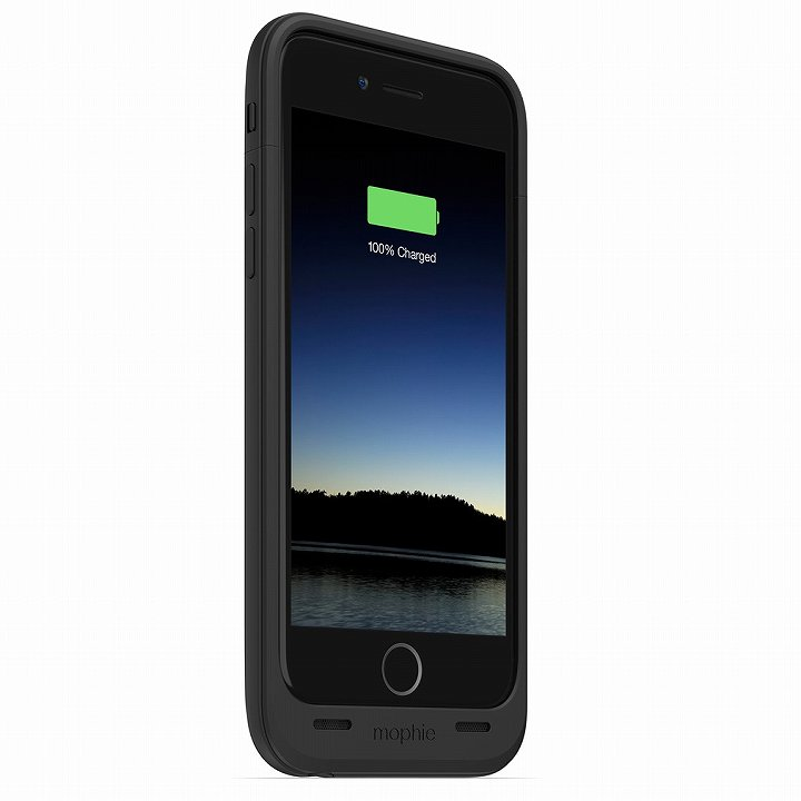 【iPhone6ケース】薄型バッテリー内蔵ケース mophie juice pack air ブラック iPhone 6_0