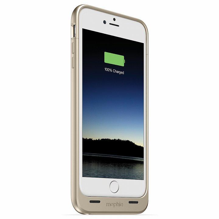 iPhone6 Plus ケース 薄型バッテリー内蔵ケース mophie juice pack ゴールド iPhone 6 Plus_0
