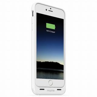 iPhone6 Plus ケース 薄型バッテリー内蔵ケース mophie juice pack ホワイト iPhone 6 Plus