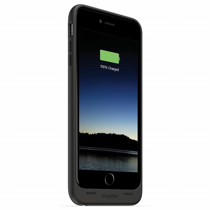 【iPhone6 Plusケース】薄型バッテリー内蔵ケース mophie juice pack ブラック iPhone 6 Plus_0