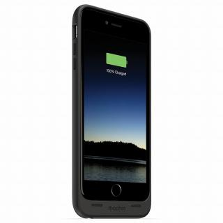 【iPhone6 Plusケース】薄型バッテリー内蔵ケース mophie juice pack ブラック iPhone 6 Plus