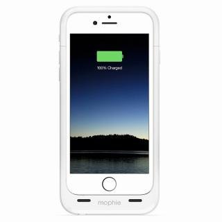 【iPhone6ケース】薄型バッテリー内蔵ケース mophie juice pack plus ホワイト iPhone 6_2