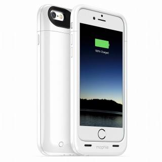 【iPhone6ケース】薄型バッテリー内蔵ケース mophie juice pack plus ホワイト iPhone 6_3