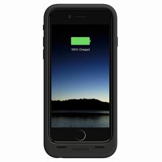 【iPhone6ケース】薄型バッテリー内蔵ケース mophie juice pack plus ブラック iPhone 6_3