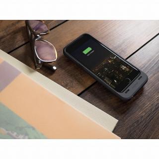 【iPhone6ケース】薄型バッテリー内蔵ケース mophie juice pack plus ブラック iPhone 6_4