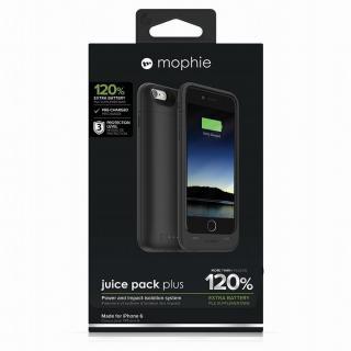 【iPhone6ケース】薄型バッテリー内蔵ケース mophie juice pack plus ブラック iPhone 6_5