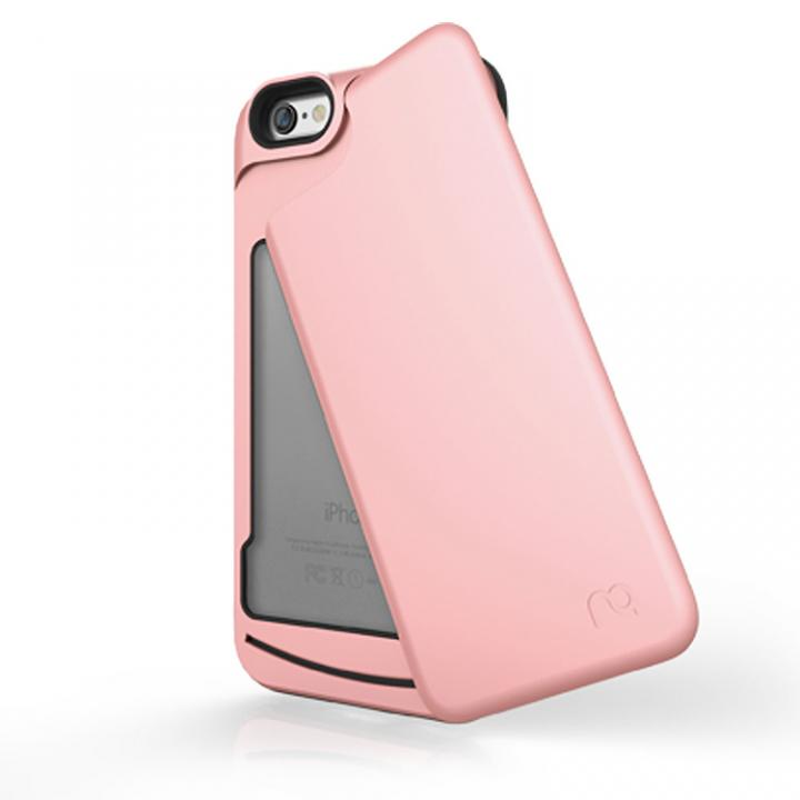 iPhone6s/6 ケース 左右開閉式ICカード収納ケース MATCH4 SWING ローズゴールド iPhone 6s/6_0