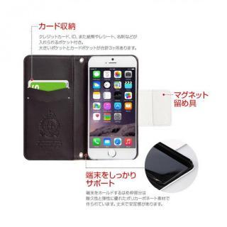 【iPhone6s/6ケース】手帳型ケース Old Nosegay fervor iPhone 6s/6_6