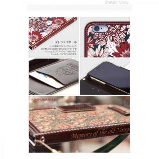 【iPhone6s/6ケース】手帳型ケース Old Nosegay fervor iPhone 6s/6_8