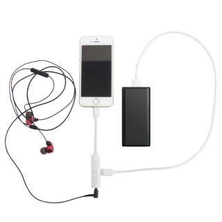 充電しながら音楽再生 Lightning変換アダプタ 3.5mmイヤホンジャック+充電ポート