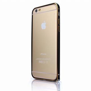 【iPhone6ケース】Fantastick ネジなし軽量アルミバンパー ブラック iPhone 6 カメラリング付_1