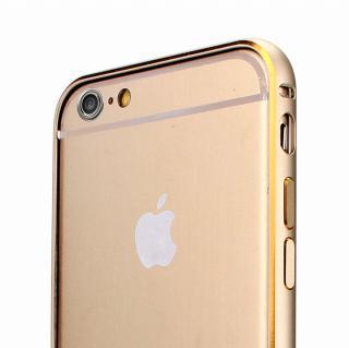【iPhone6 Plusケース】Fantastick ネジなし軽量アルミバンパー ゴールド iPhone 6 Plus カメラリング付