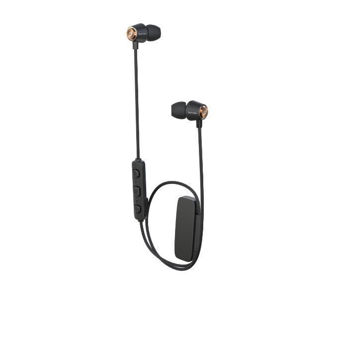 Bluetoothワイヤレスイヤフォン JOYOUS ゴールド