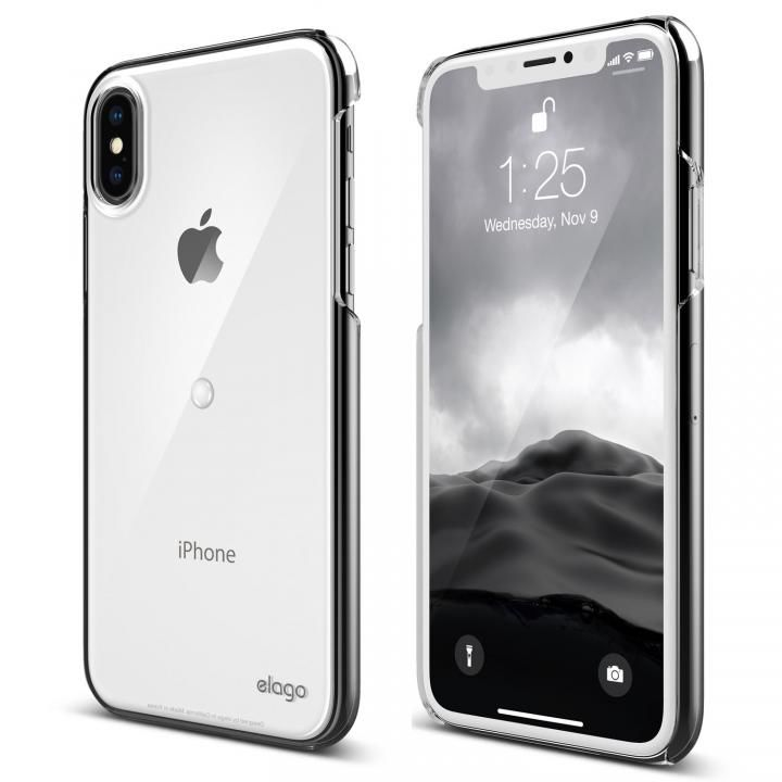 【iPhone XS/Xケース】elago Smart spinner ケース Clear iPhone XS/X_0