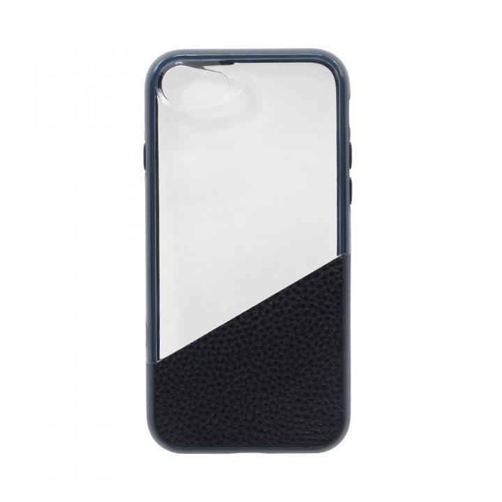 1.8mからの落下にも耐える!耐衝撃 ハイブリッドケース ネイビー iPhone 7