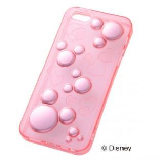 ディズニー iPhone SE/5s/5 ラグジュアリー・ソフトケース/ミッキー・ピンク