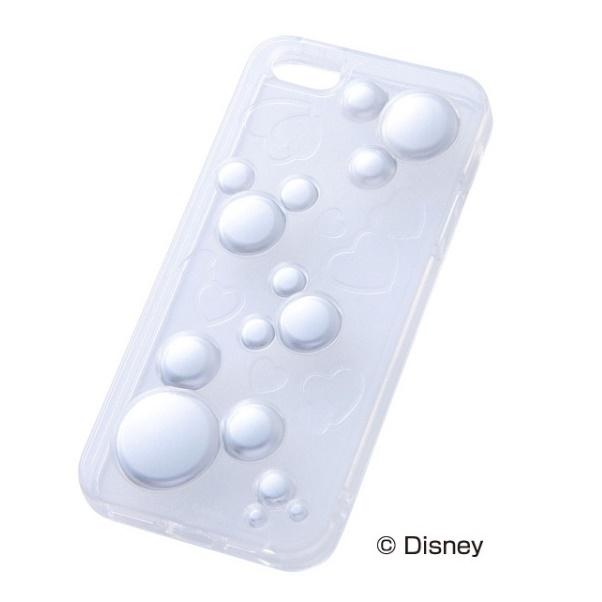 ディズニー iPhone SE/5s/5用 ラグジュアリー・ソフトケース/ミッキー・クリア