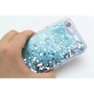 【iPhone6ケース】ラメKIRA ハードケース ブルー iPhone 6_3