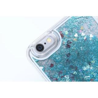 【iPhone6ケース】ラメKIRA ハードケース ブルー iPhone 6_5