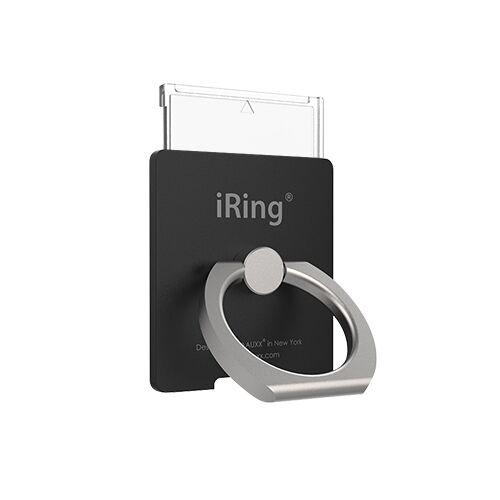 ワイヤレス充電対応 スマホリング iRing Link2 ブラック【4月上旬】_0