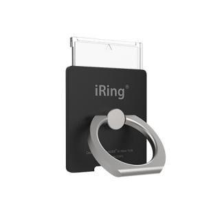 ワイヤレス充電対応 スマホリング iRing Link2 ブラック【4月上旬】
