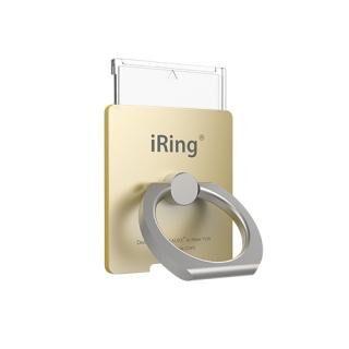 ワイヤレス充電対応 スマホリング iRing Link2 ゴールド