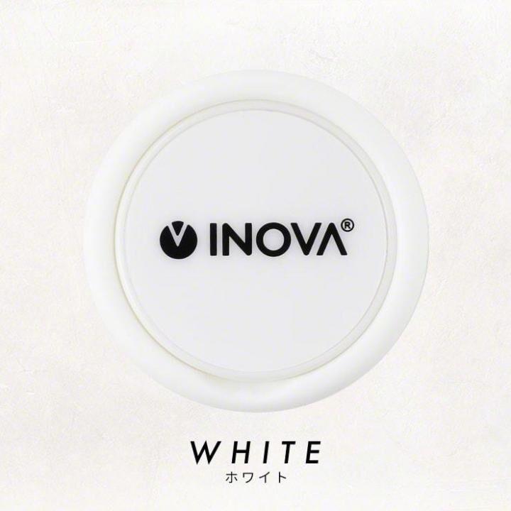 INOVA シリコンスマホリング ホワイト_0