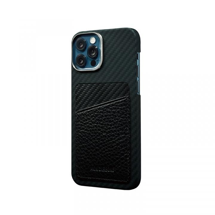 HOVERSKIN StealthBlack カードポケット iPhone 12/iPhone 12 Pro ブラック_0
