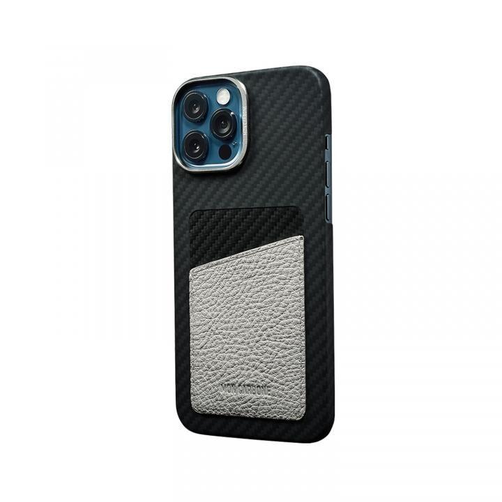 HOVERSKIN StealthBlack カードポケット iPhone 12/iPhone 12 Pro ホワイト_0
