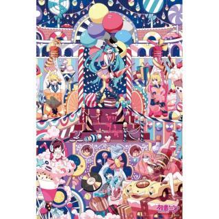 初音ミク ジグソーパズル1000ピース キャンディキャンドルキャンペーン