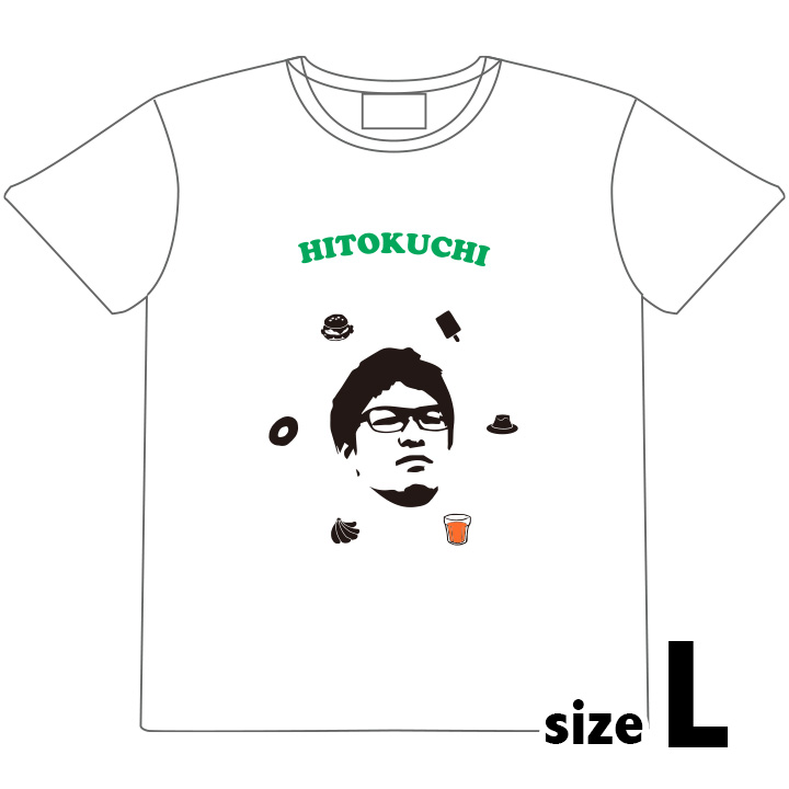 みっくすTシャツ ホワイト Lサイズ_0