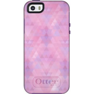 OtterBox Symmetry オーキッドピンク/オパールパープル iPhone SE/5s/5ケース