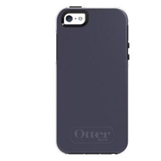 OtterBox Symmetry ダスクブルー/スレートグレー iPhone SE/5s/5ケース