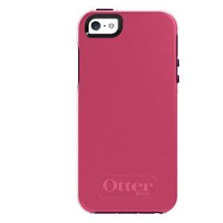 OtterBox Symmetry ブレイズピンク/ダムソンパープル iPhone SE/5s/5ケース