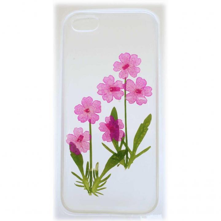 iPhone5s/5用ケース 生花 バーベナ