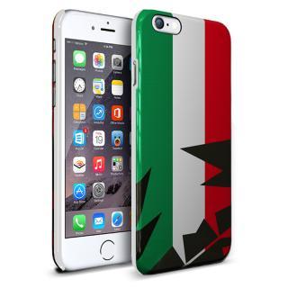 イタリア 名門チューナー「アバルト」社公認ハードケース バンディエラ iPhone 6