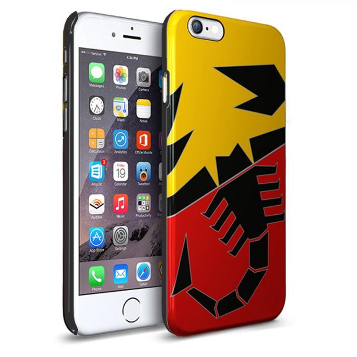 iPhone6 ケース イタリア 名門チューナー「アバルト」社公認ハードケース スクード iPhone 6_0