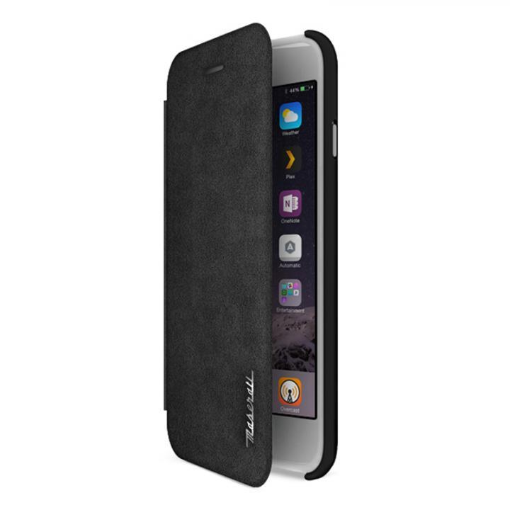 イタリア「マセラティ」社公認 アルカンターラ手帳型ケース iPhone 6