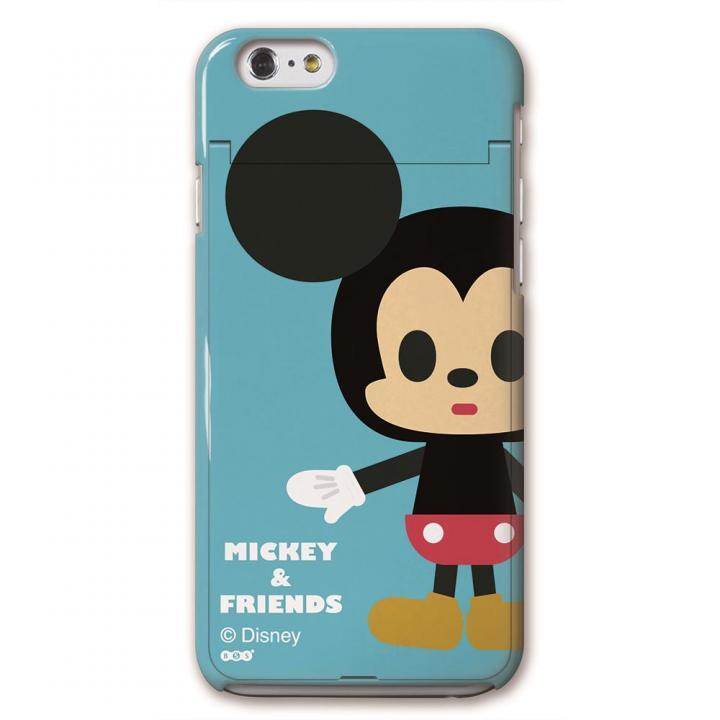 iCompact ディズニー 多機能ケース ミッキー iPhone 6