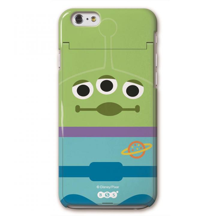 iCompact ディズニー 多機能ケース リトルグリーンメン iPhone 6