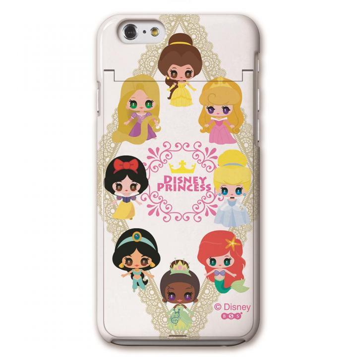 【iPhone6ケース】iCompact ディズニー 多機能ケース プリンセス iPhone 6_0