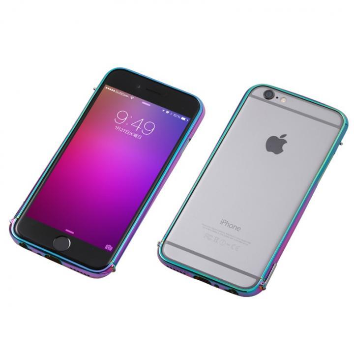 iPhone6 ケース Deff ステンレススチールバンパー Polish 玉虫 iPhone 6_0