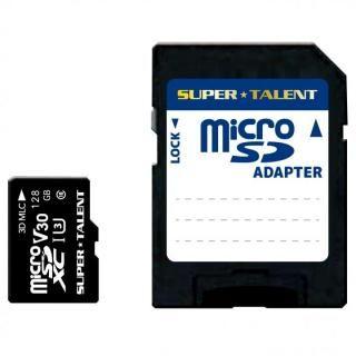 高耐久microSDカード 128GB MLCチップ採用 高速class10