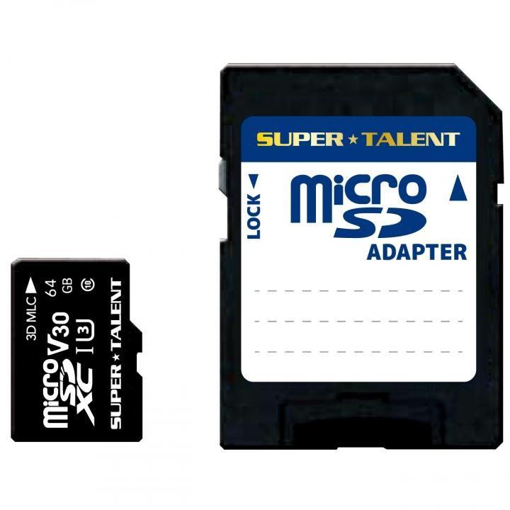 高耐久microSDカード 64GB MLCチップ採用 高速class10【8月下旬】_0