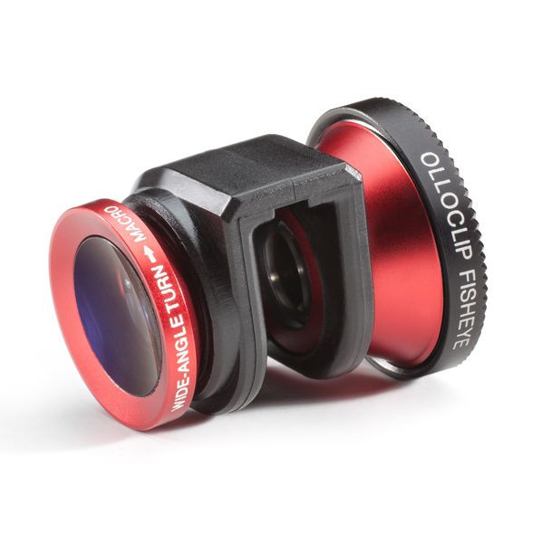 olloclip lens system  iPhone 5 Red