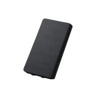 【iPhone6ケース】右開き 合皮カラフル手帳型ケース ブラック iPhone 6_2