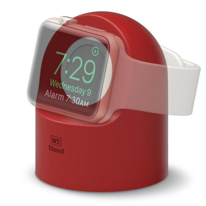 elago W2 STAND Apple Watch スタンド レッド_0